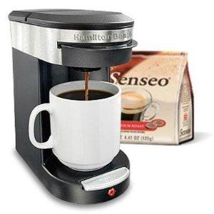 senseo hamilton beach coffee maker