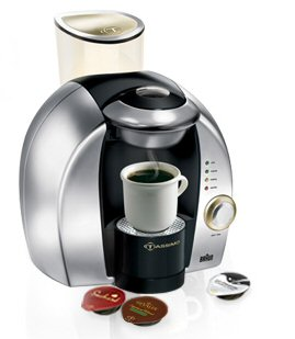 Single-serve-coffee-maker-silver-tassimo