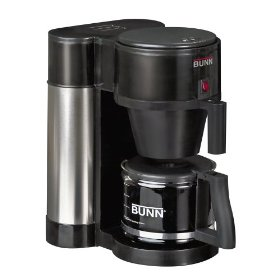 BUNN NHBX-B Contemporary 10-Cup Home Coffee Brewer