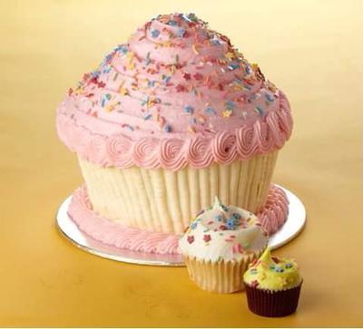 3 Cupcake Sizes