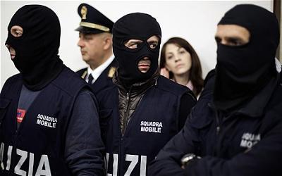 Mafia arrested for selling espresso