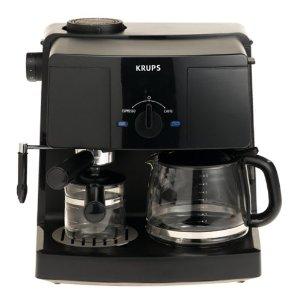krups xp 1500 espresso machine & coffee maker