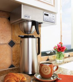 Black And Decker Coffee Maker Will Not Turn On : Stylish undercounter coffee maker OnCoffeeMakers.com