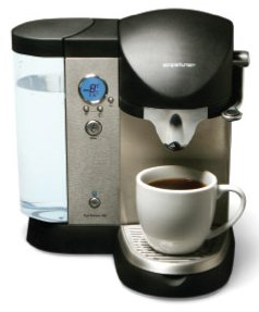 coffee pod brewer
