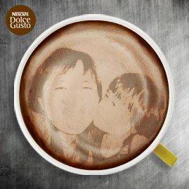 Latte Art By me!