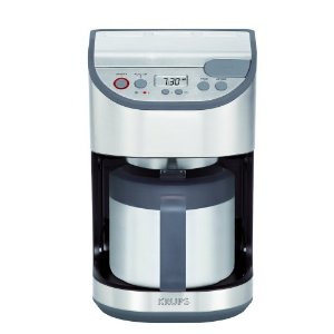 krups thermal 10-cup kt4065 s coffee maker
